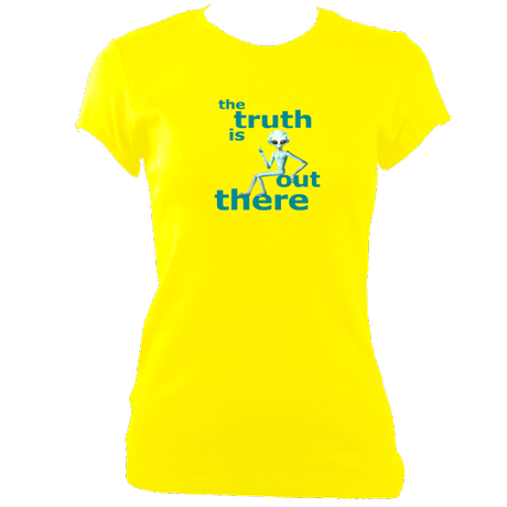The Truth Is Out There - Women's Fitted T-Shirts