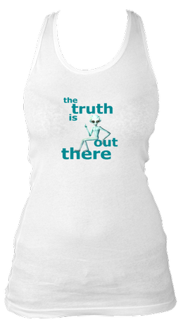The Truth Is Out There - Women's Longer Tank