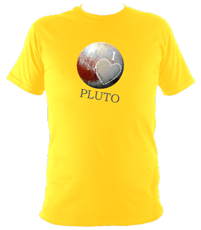 I Love Pluto - Men's T-Shirt