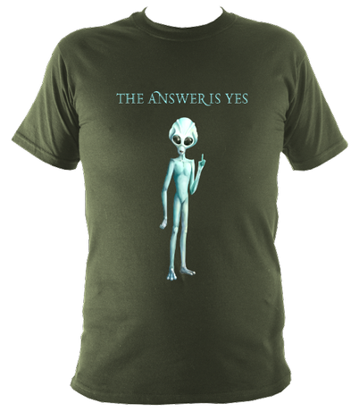 The Answer Is Yes - Men's T-Shirt