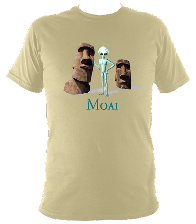 Moai - Easter Island - Women's T-Shirt