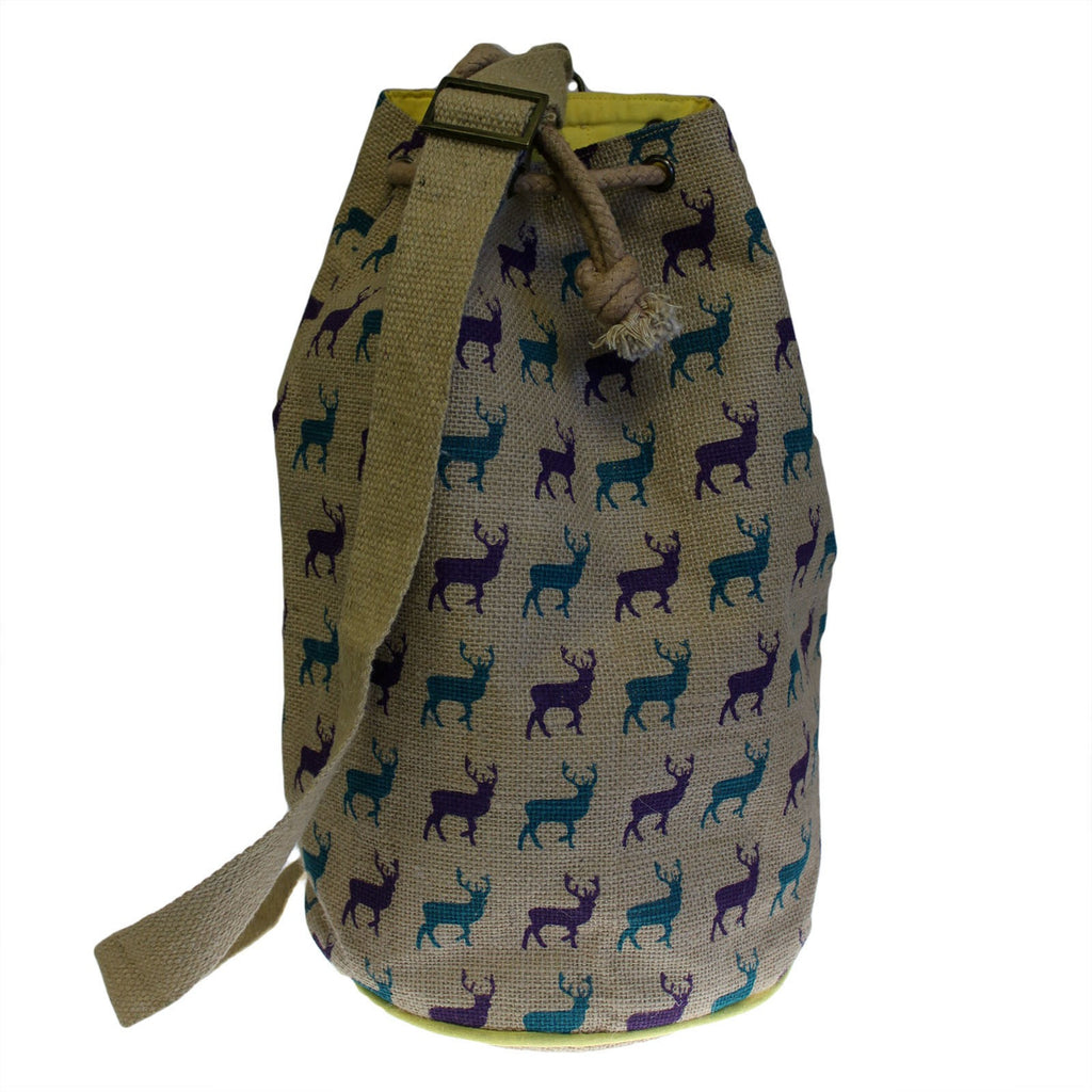 Backpacks, Bags, Hipster Duffle Bags, Jute Duffle Bag, Outdoors, Stag, Travel