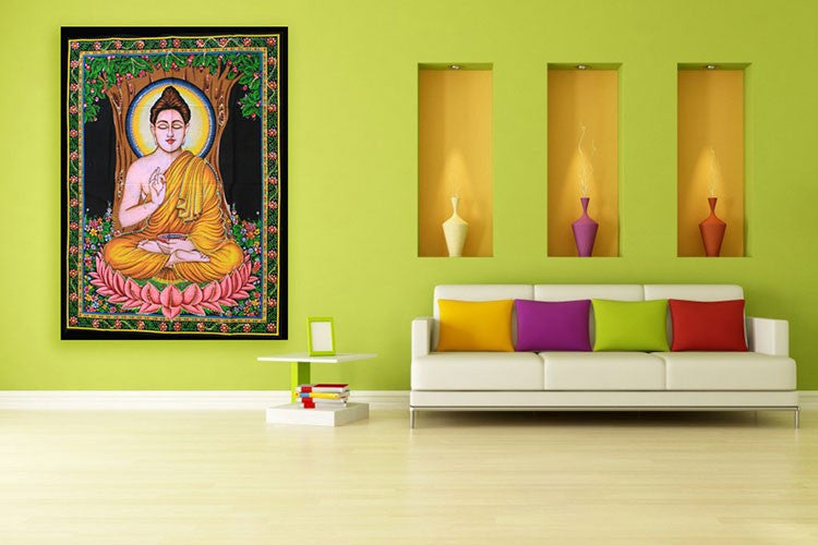 Indian Wall Art Print - Buddha