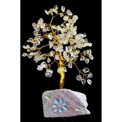 Rock Crystal Gemstone Tree (160 Stone)
