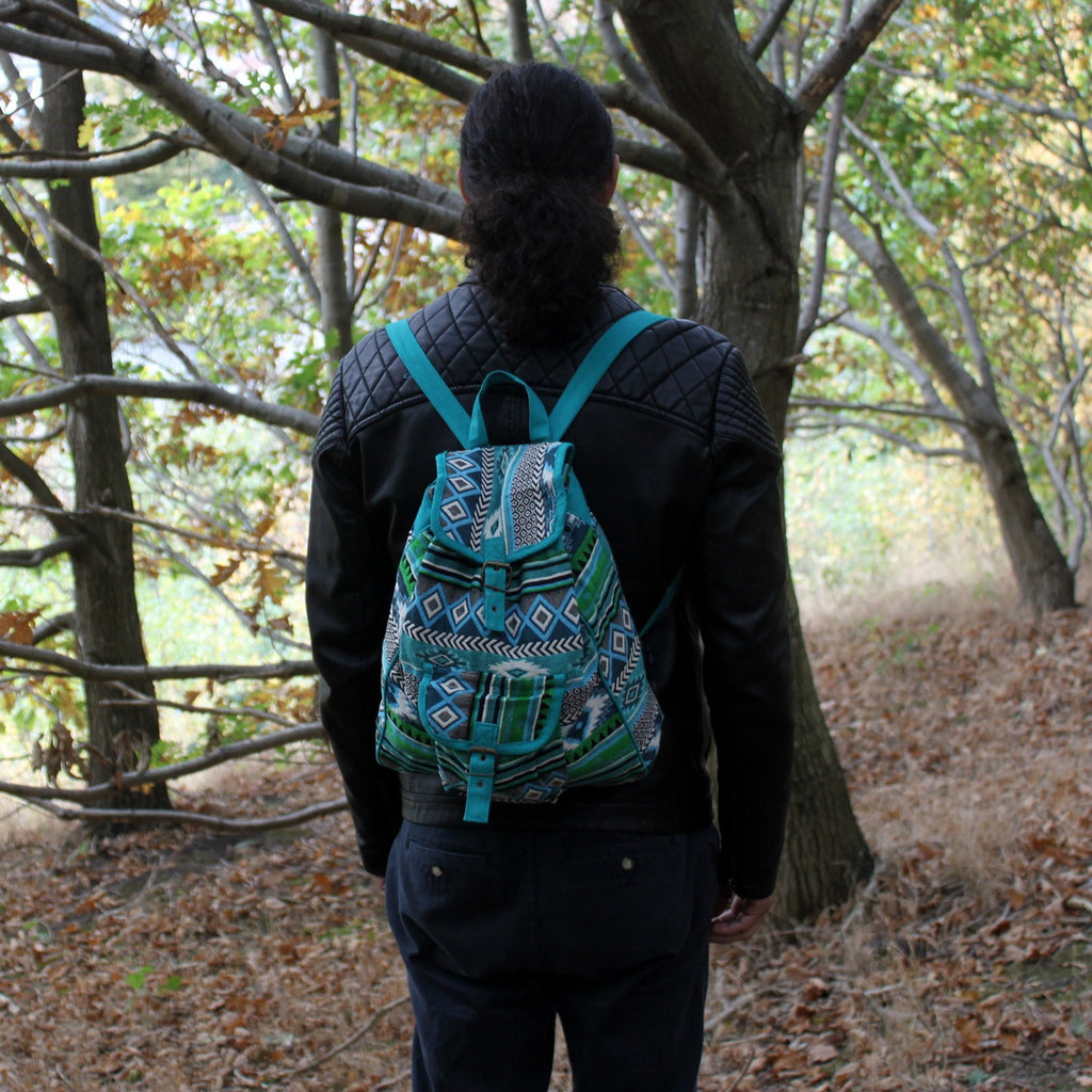 Jacquard Bag - Ethnic Nepali Backpack