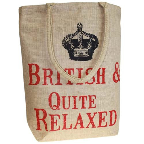 Bags, British & Quite Relaxed, Jute Bags, Jute Shopping Bags, Jute Trend Bag, Shopping