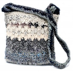 Crocheted Sling Bags - Neutral Tones (Assorted Colours)