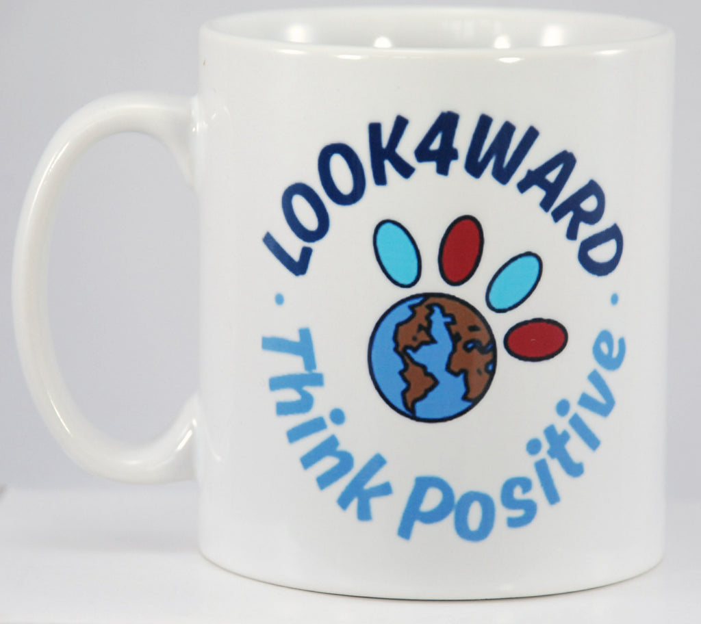 Look4ward, Think Positive - Mug