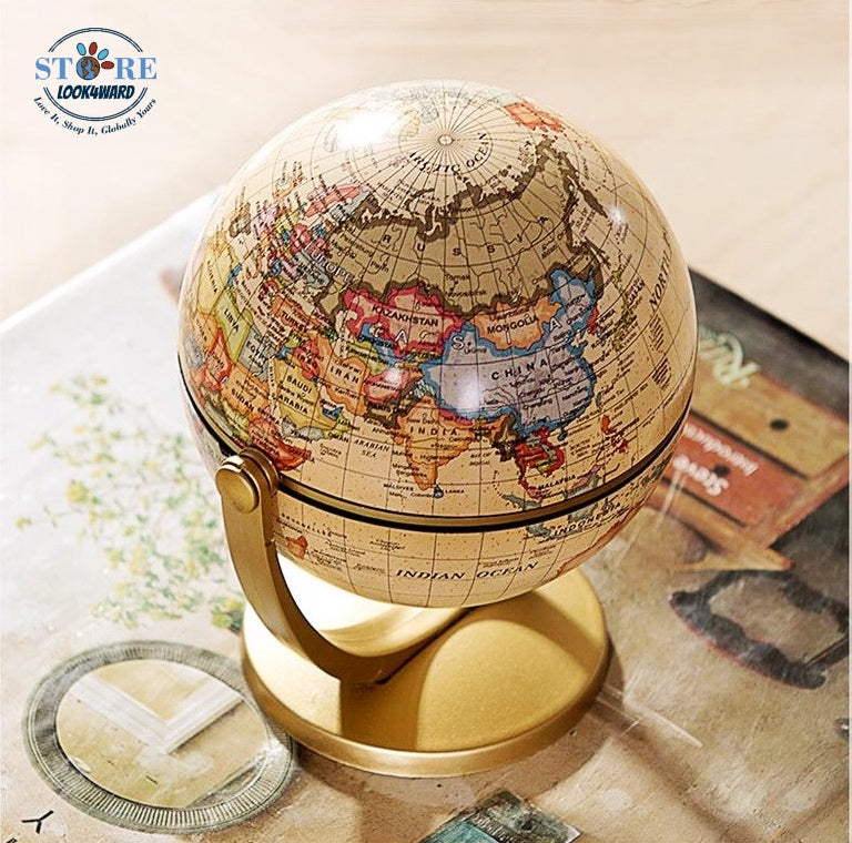 Antique Style Mini World Globe