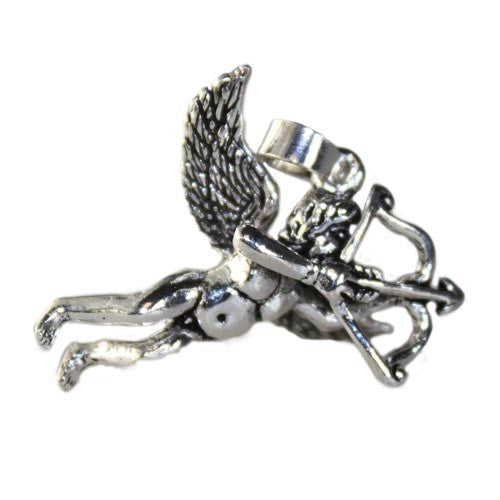 925 Sterling Silver Cupid Pendant