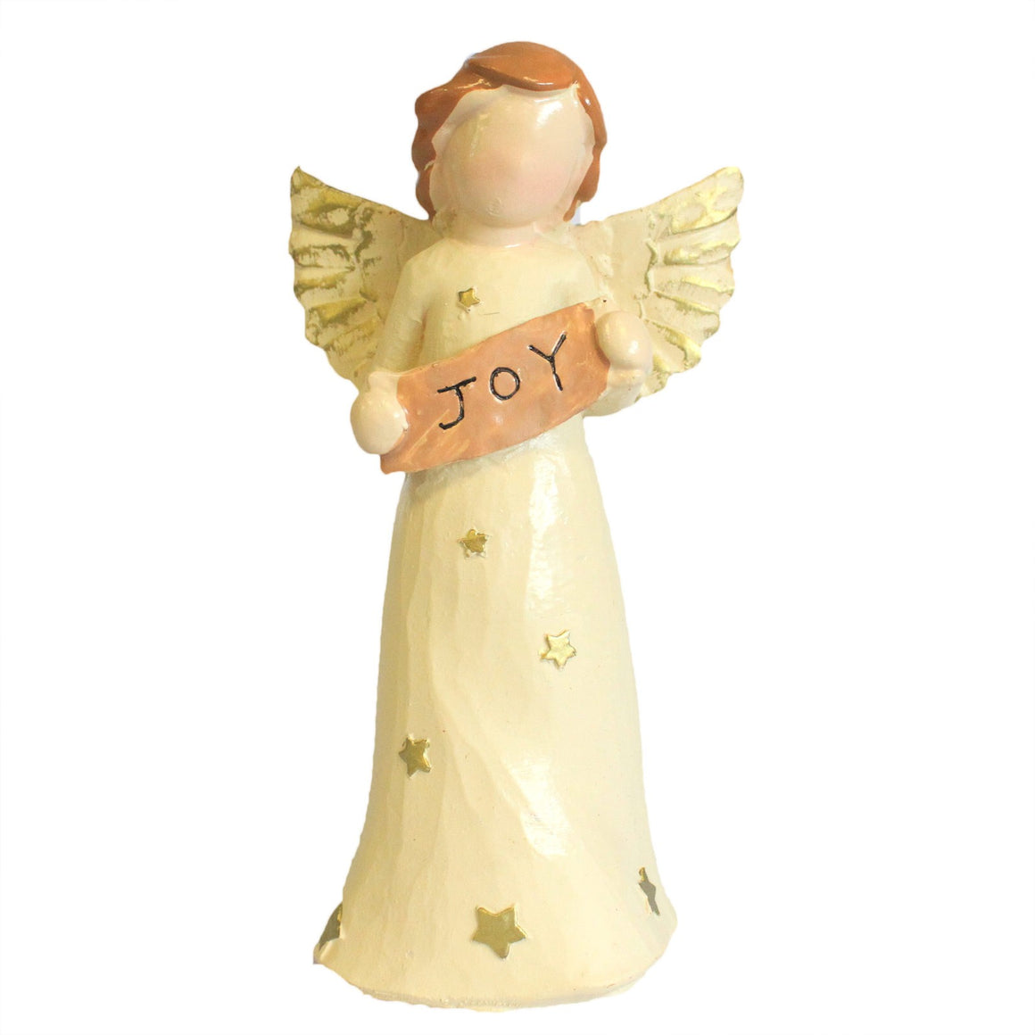 Xmas Natures Angels Figurine - Joy