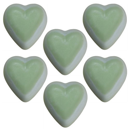 Natural Heart Shaped Soy Wax Melts