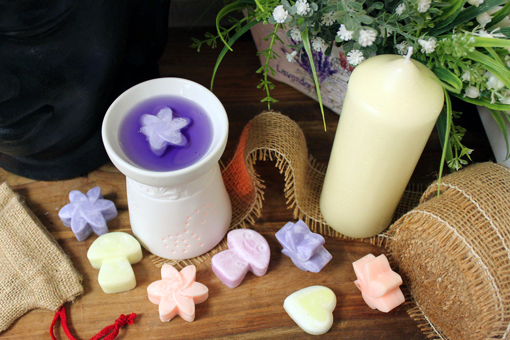 Natural Mushroom Shaped Soy Wax Melts