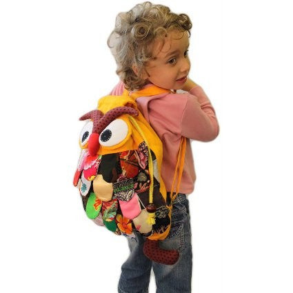Bags, Gift, Kids, Large, Owl, Owl Back Pack, Undersized Backpack, Unusual Bags