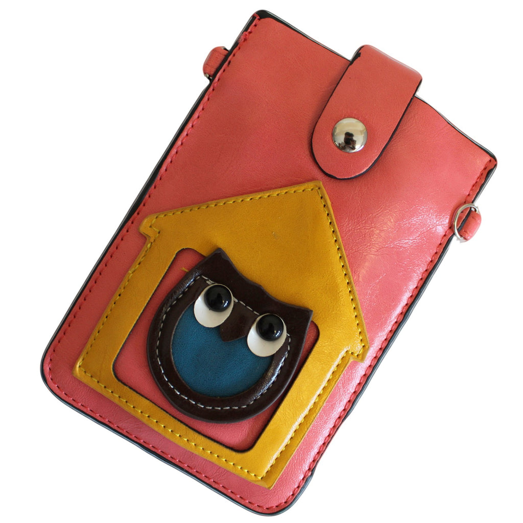 Bags, Black & Pink, Gift, Green & Pink, Orange & Yellow, Owl, Owl Pouches PVC, Pink & Yellow, Pouch, PVC, Red &