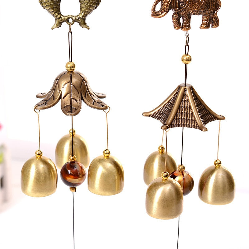 Antique Cooper Feng Shui Wind Chime
