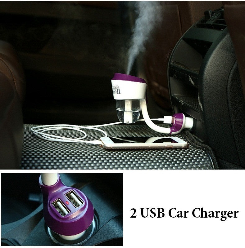 Car Humidifier - Air Purifier