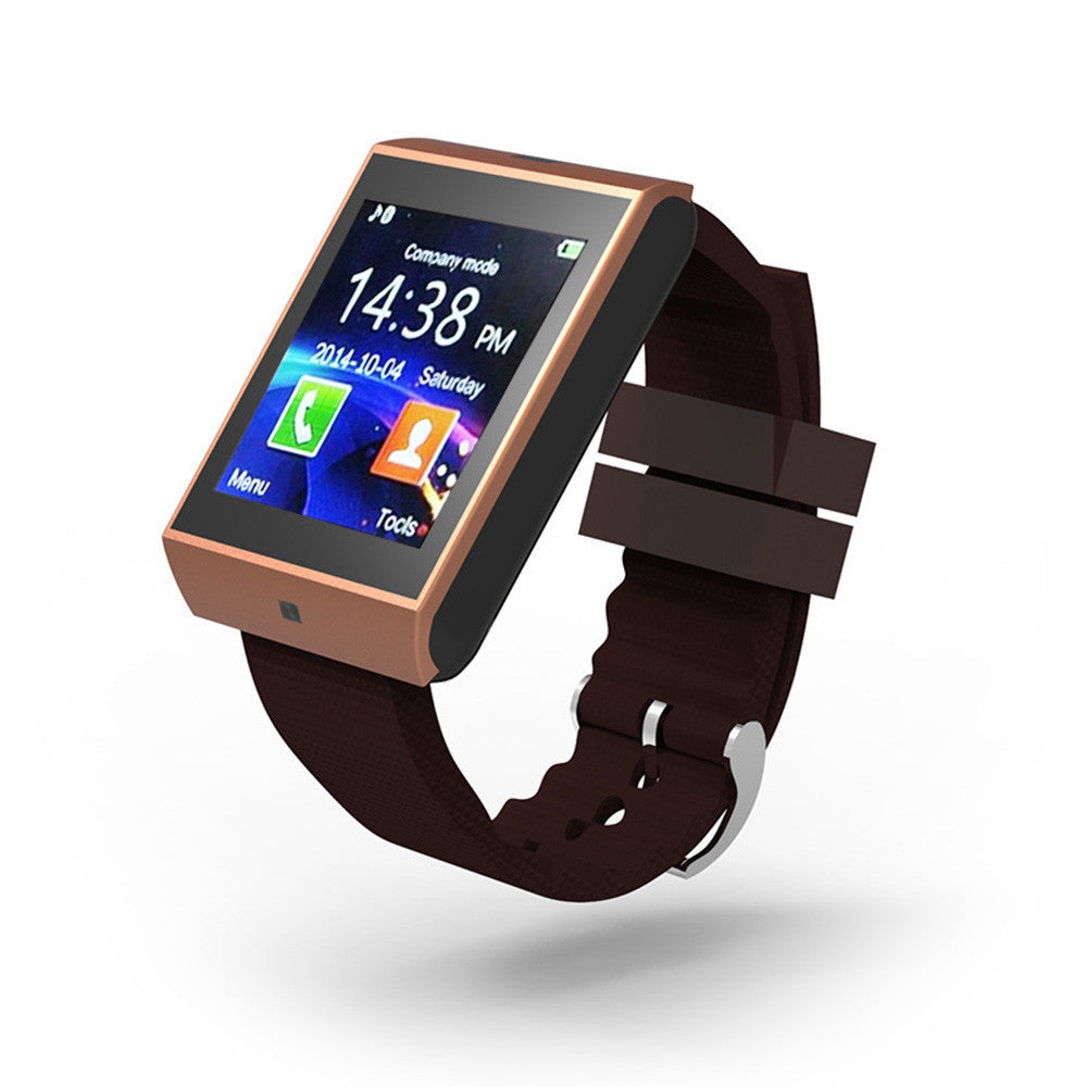 Bluetooth Smartwatch/Sync Notifier Support SMI TF for iphone Android Samsung