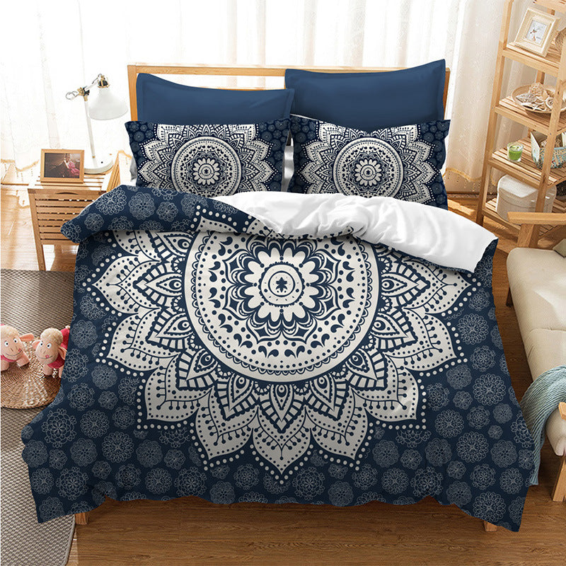 Bohemian Mandala Duvet Cover Sets/ Bedding Set