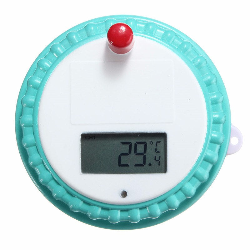 Wireless Floating Digital Waterproof Swimming Pool SPA Floating Thermometer With Receiver