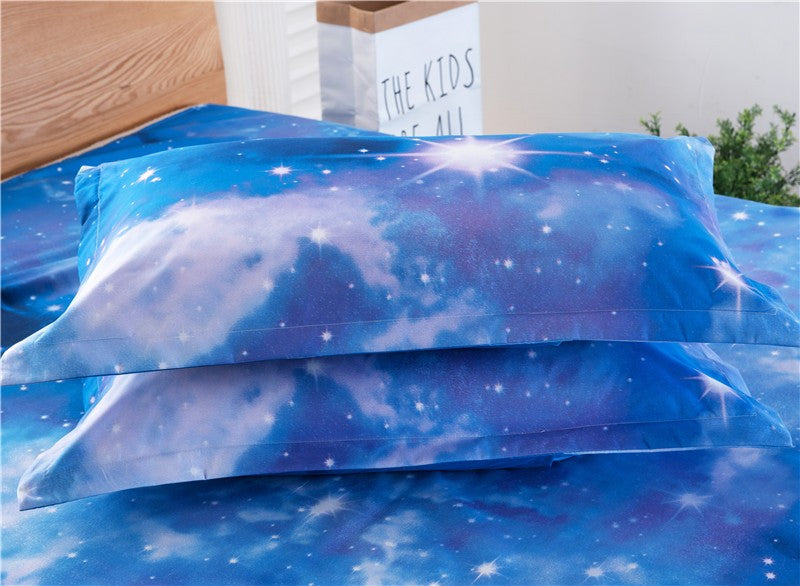 Amazing 3D Galaxy Space Themed Bedding Set