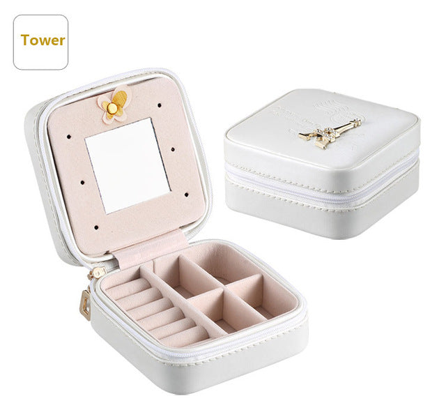 Mini Travel Jewellery Box/Cosmetic Makeup Organiser