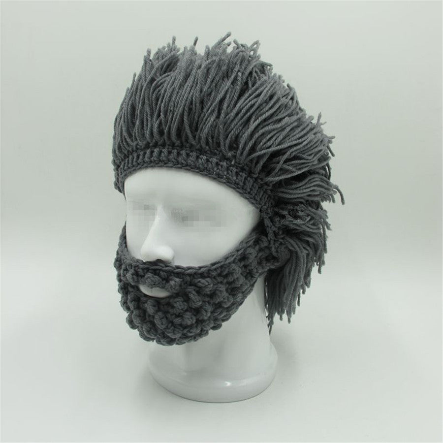 Caveman Handmade Knit Warm Winter Hats/Caps Beanies