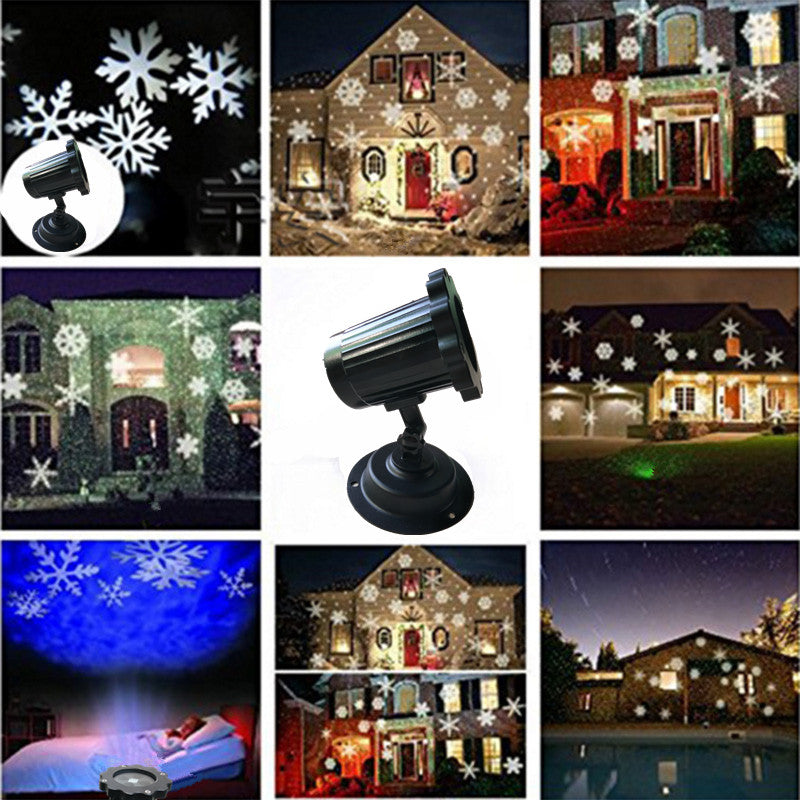 Christmas Home decoration projector lights  waterproof outdoor-Plug-in Fairy Lights