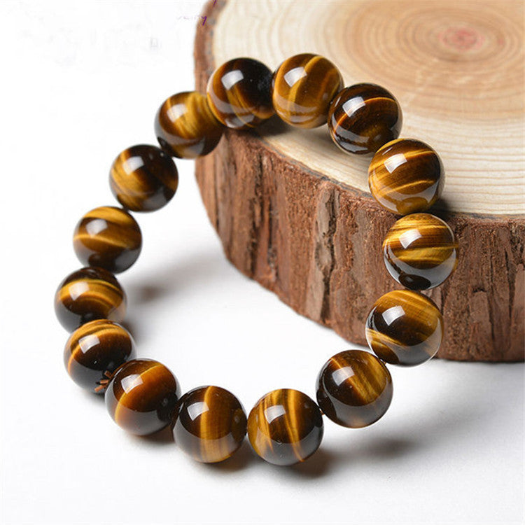 Natural Stone Tiger Eye Beads Bracelet