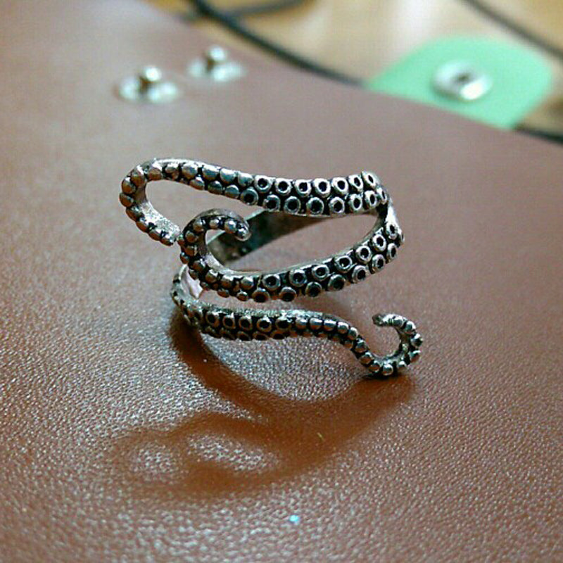 Kraken - The Octopus Adjustable Ring