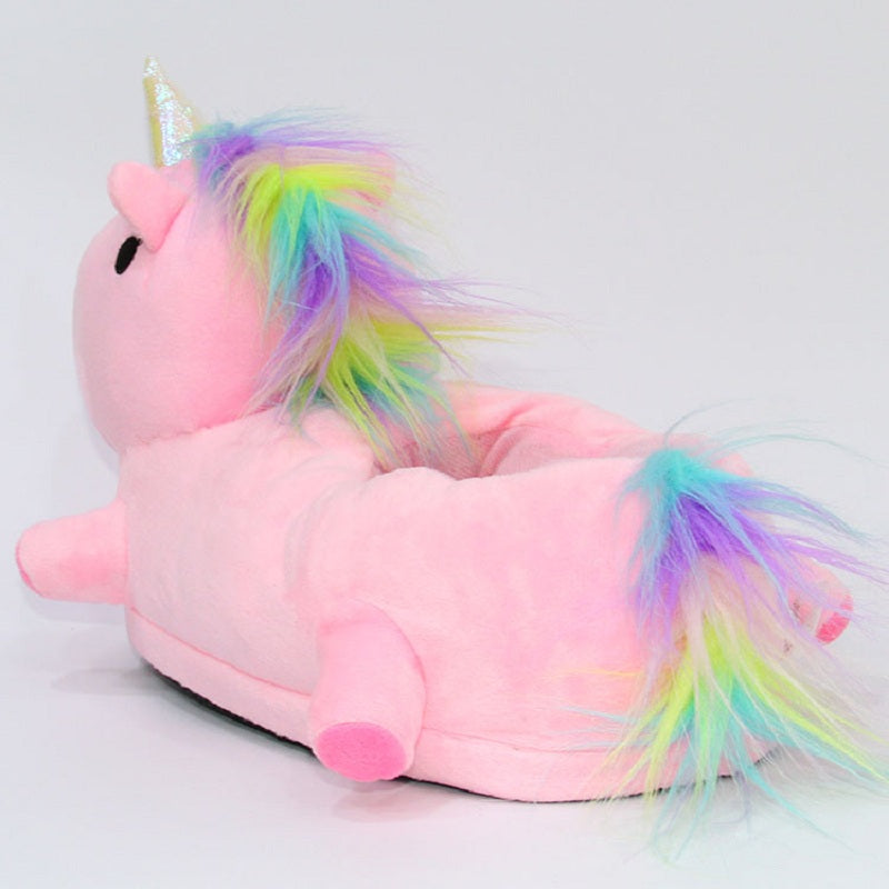 Led Glowing Unicorn Slippers