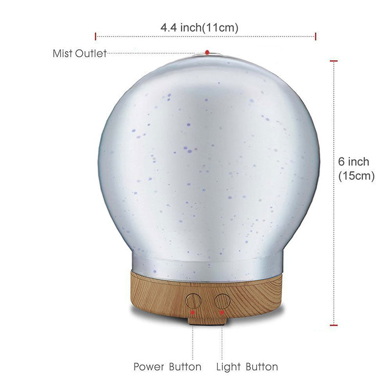 3D Galaxy Lights Oil Diffuser/Humidifier