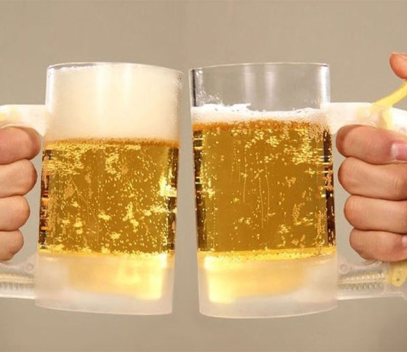 Beer Foam Head Making Mug