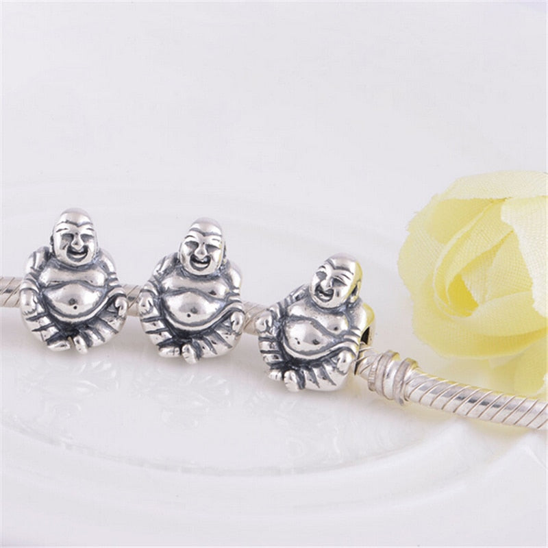 925 Sterling Silver Happy Buddha Charm