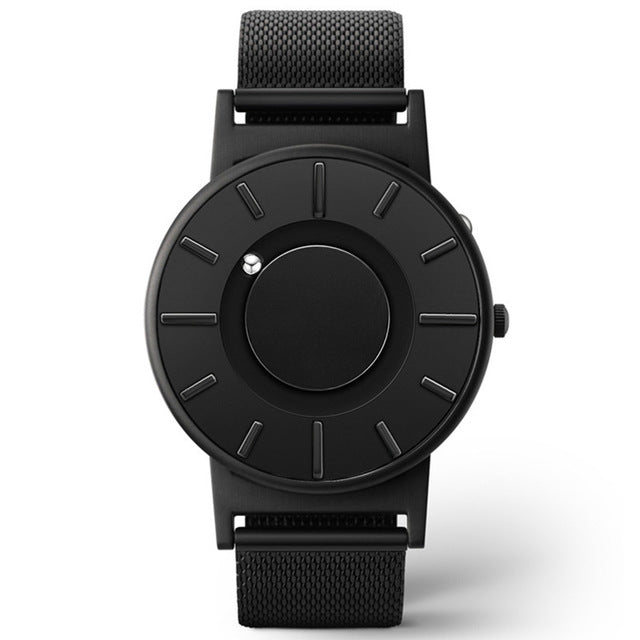 Stainless Steel Tactile Unisex Watch