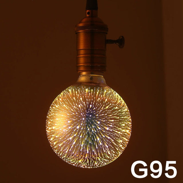 3D Galaxy Decoration Bulbs