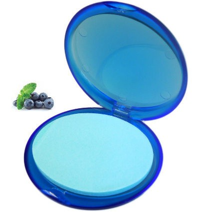 Compact Blueberry Paper Soap (Set of 20)
