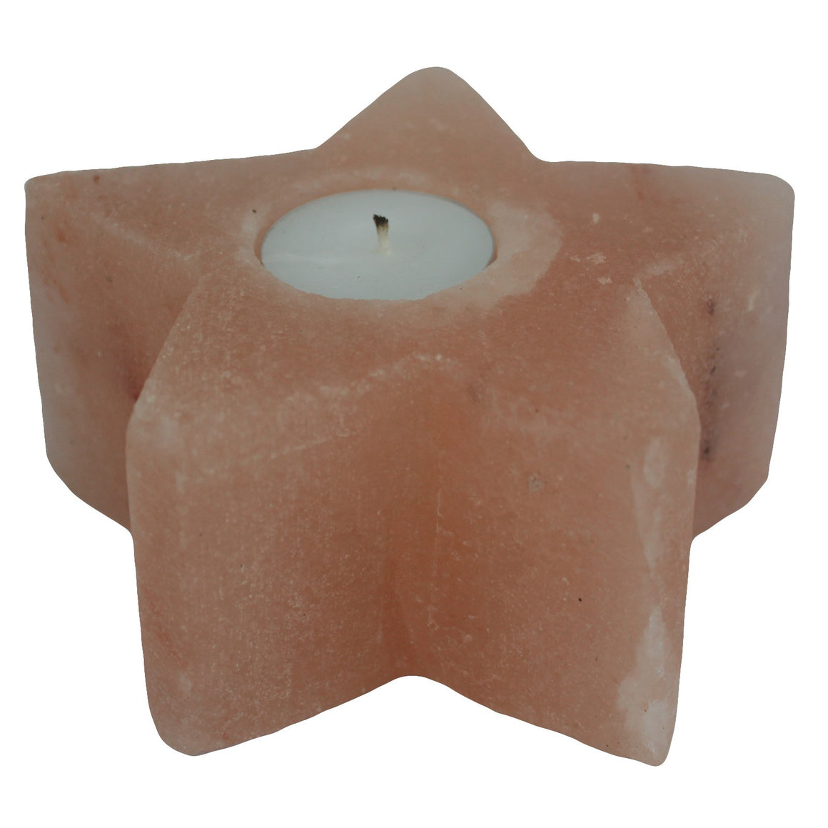 Salt Candle Holder - Star