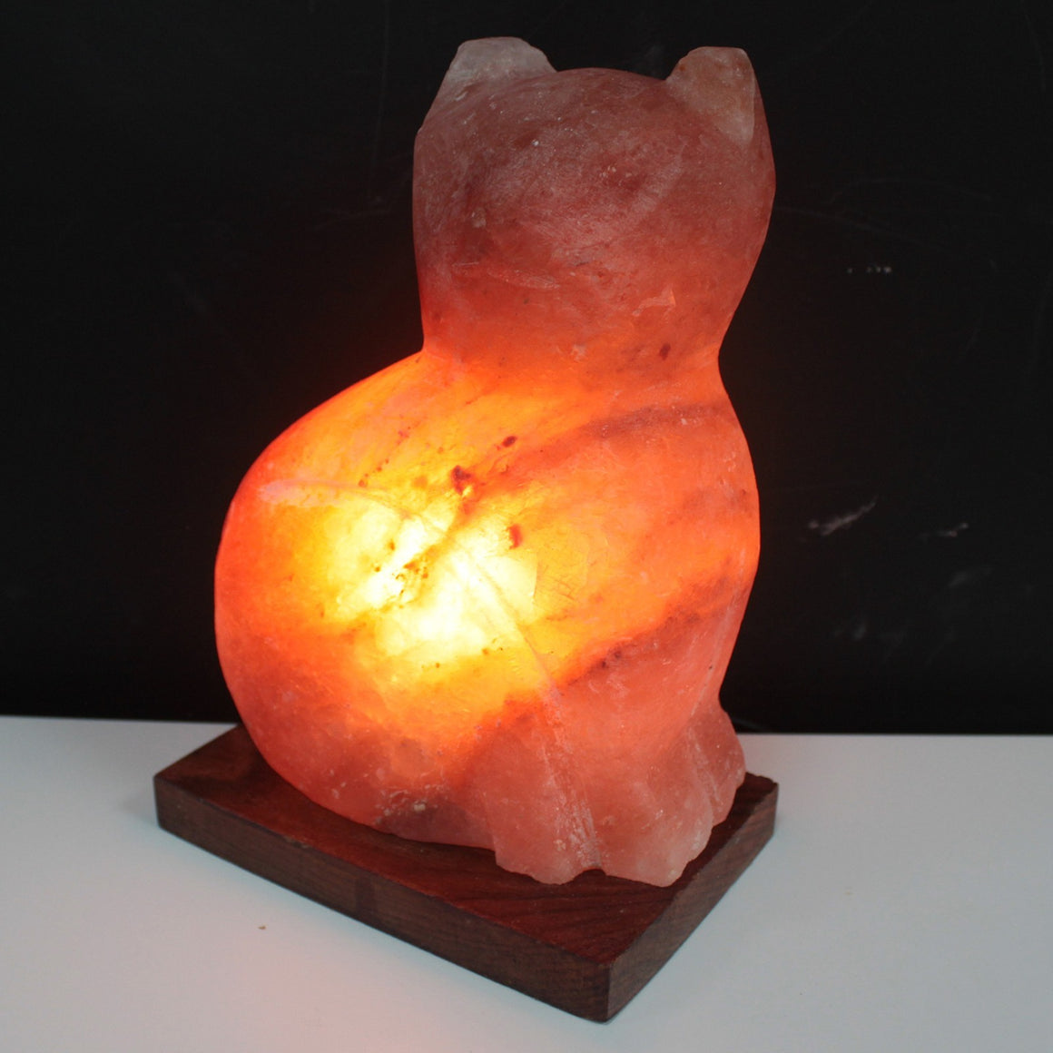 Animal Design Himalayan Salt Lamp - Cat
