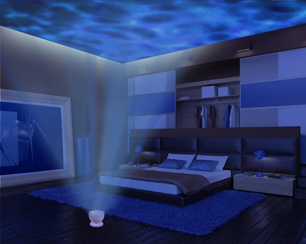 Romantic Mesmerising Ocean Wave Projector