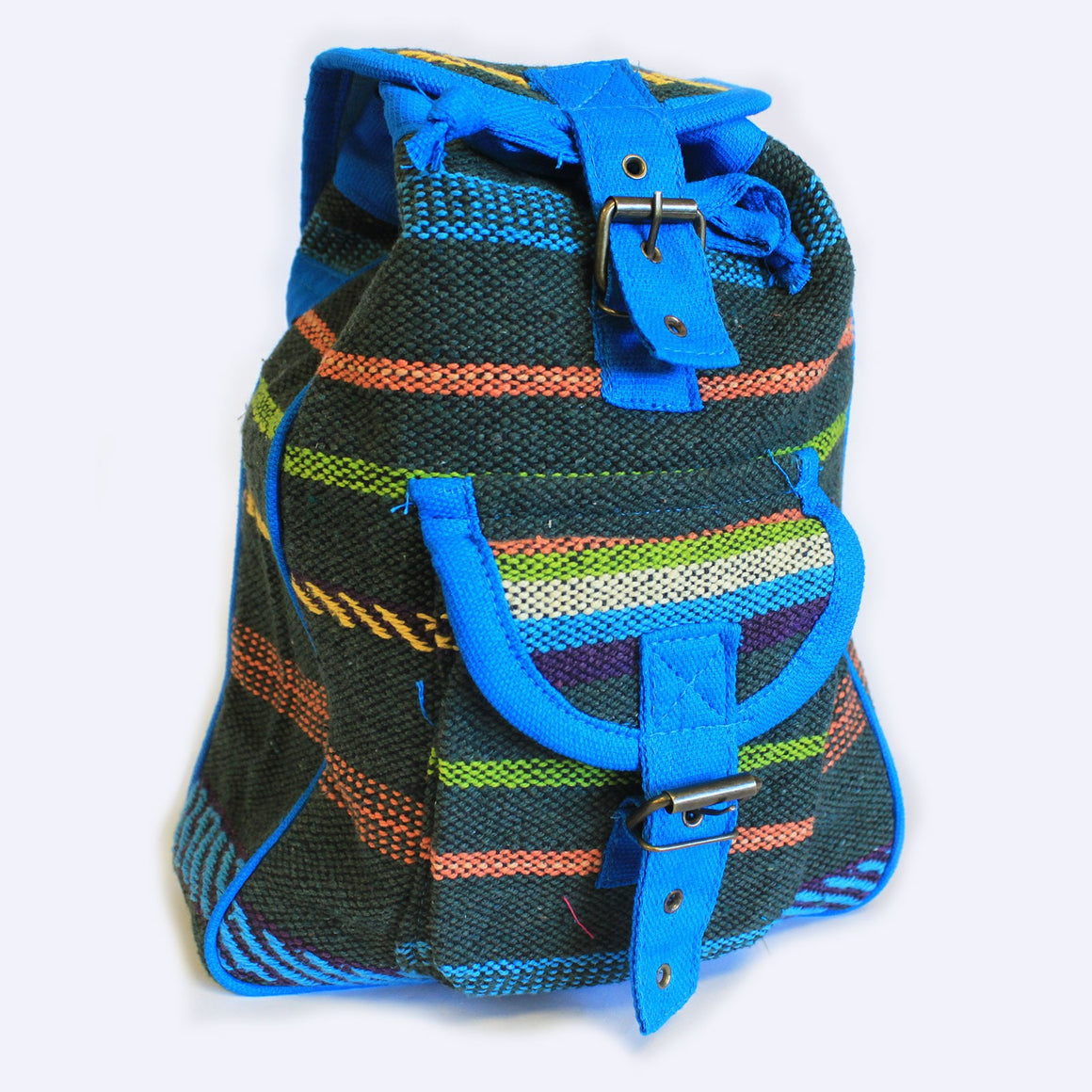 Blue Small Nepali Backpack