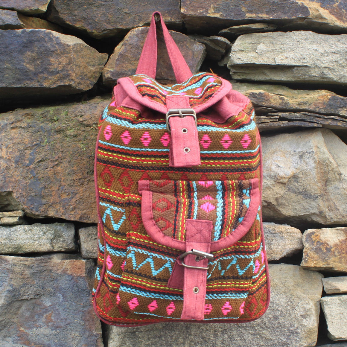Backpacks, Bags, Kids, Olive, Outdoors, School, Small Nepali Backpacks, Travel, Undersized Backpack