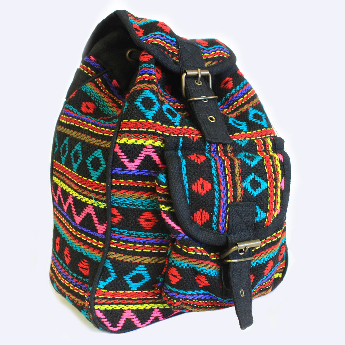 Small Nepali Backpacks - Turquoise Bag