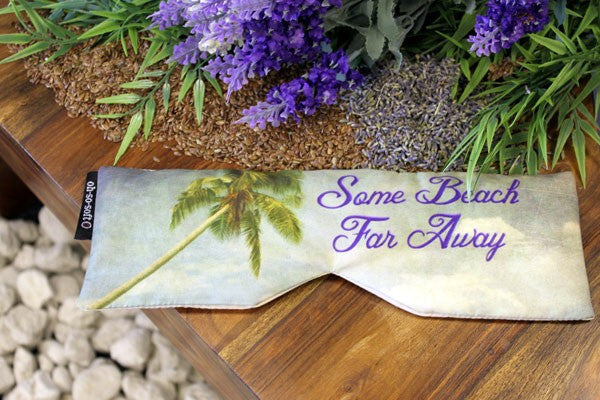 Eye Pillow - Some Beach Far Away
