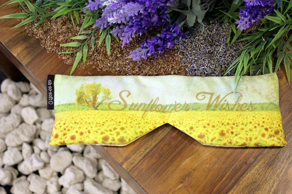 Eye Pillow - Sunflower Wishes