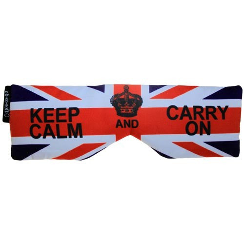 Eye Pillow - Keep Calm and Carry On