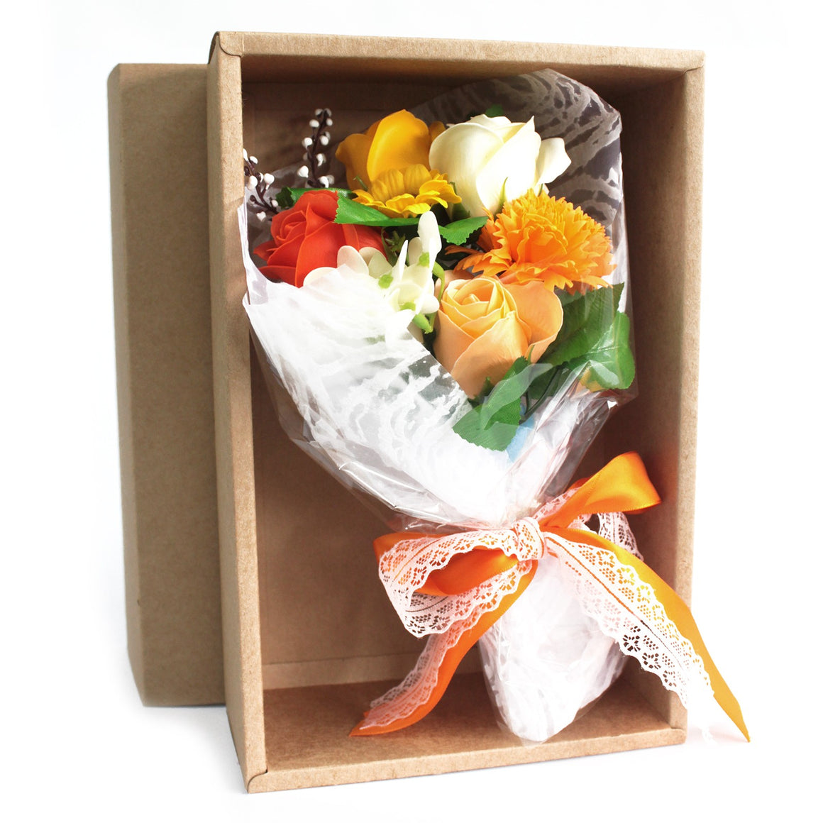 Boxed Hand Soap Flower Bouquet