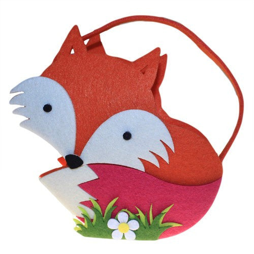 Bags, Easter, Felt Gift Bag, Fox, Gift, Unusual Bags