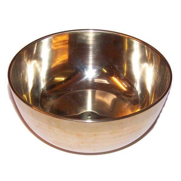 Brass Sing Bowl - Large