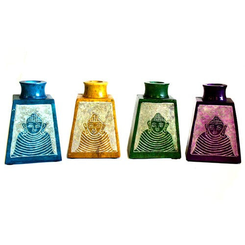Reed Diffuser Buddha Jar (Set of 4) Assorted Colours